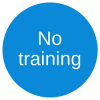 No training