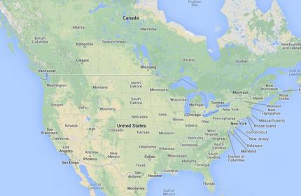 Us Map Google Maps - Maps google united states