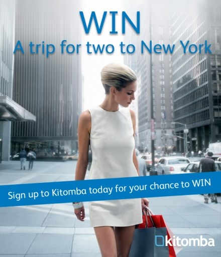 Win a trip to New York for 2 when signing up with Kitomba slaon and spa software
